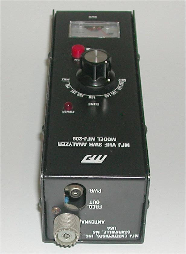 how to use mfj antenna analyzer